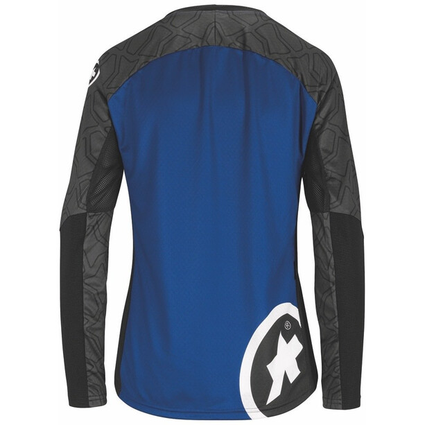 assos Trail Langarm Trikot Damen twilight blue