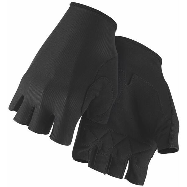 ASSOS RS Aero Kurzfinger-Handschuhe black series