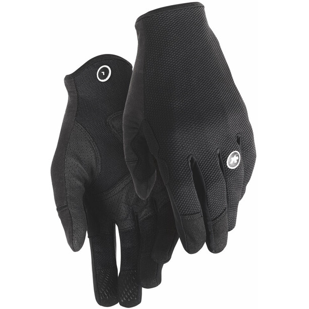 ASSOS Trail Vollfinger-Handschuhe black series