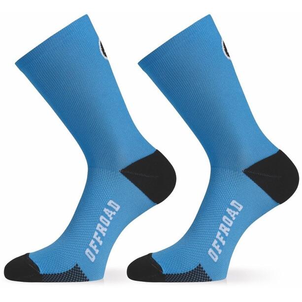 assos XC Socken corfu blue