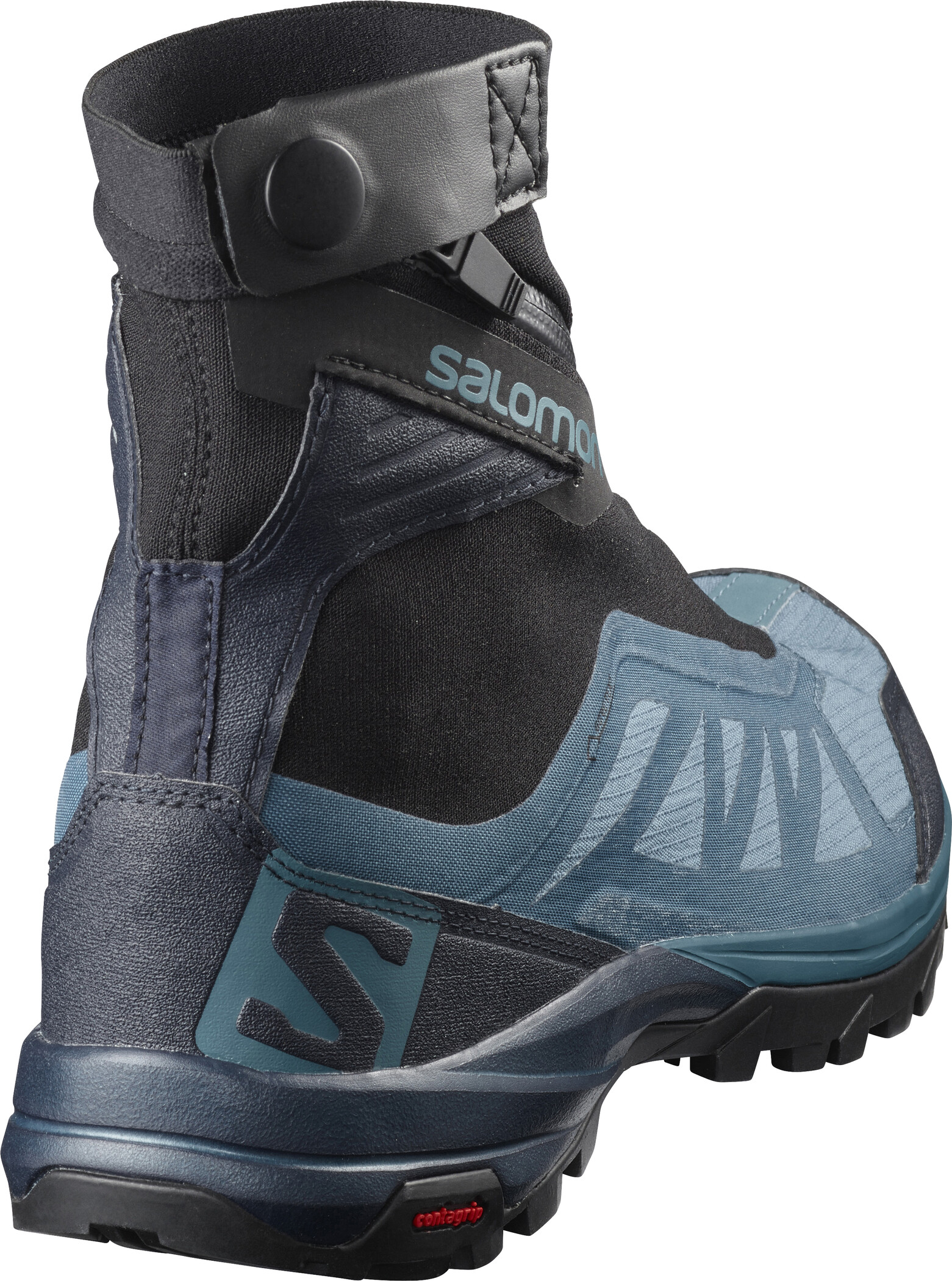 Salomon Outpath Pro GTX Shoes Dam mallard bluenavy blazerblack