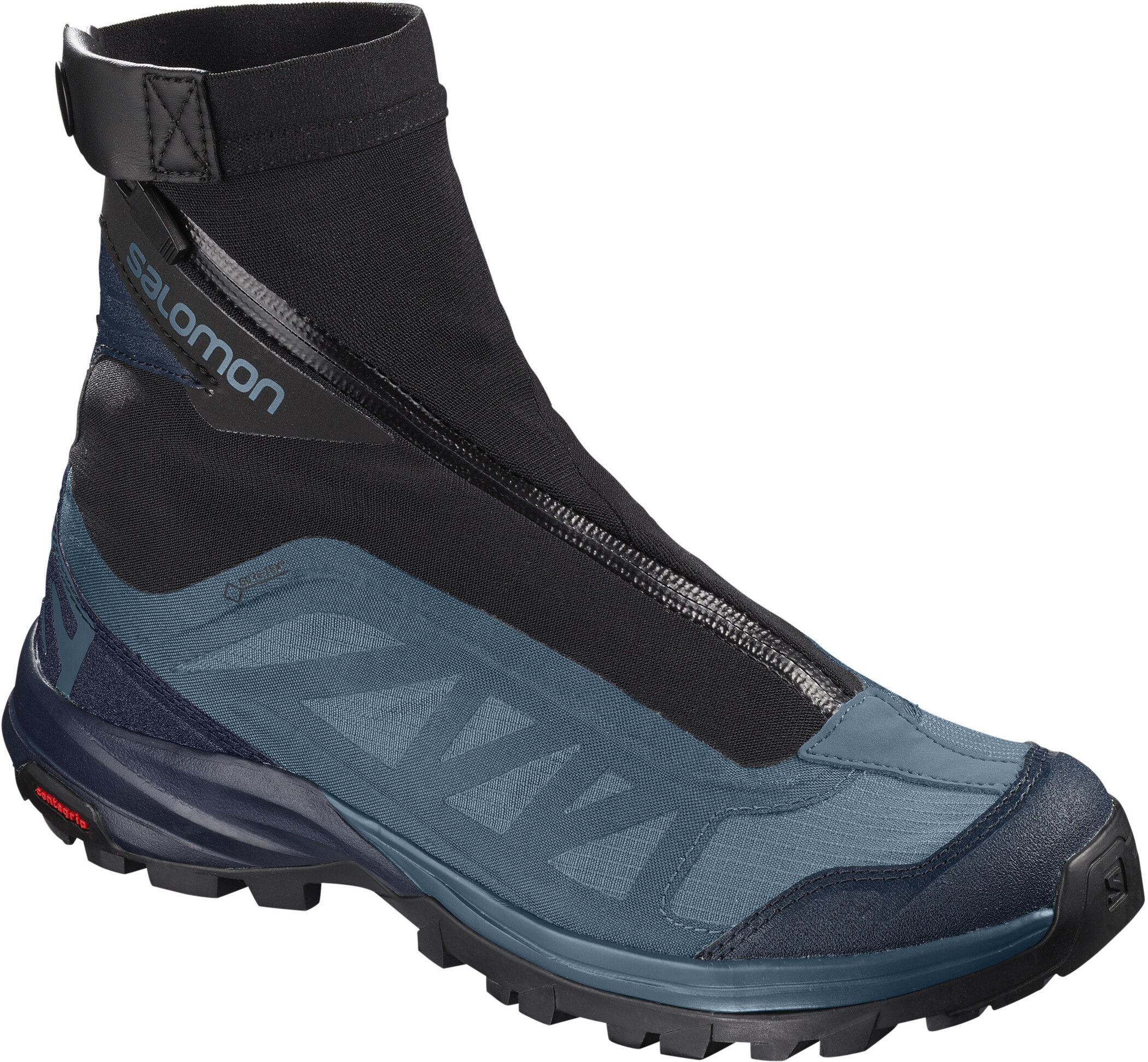 Salomon Outpath Pro GTX Shoes Dam mallard bluenavy blazerblack