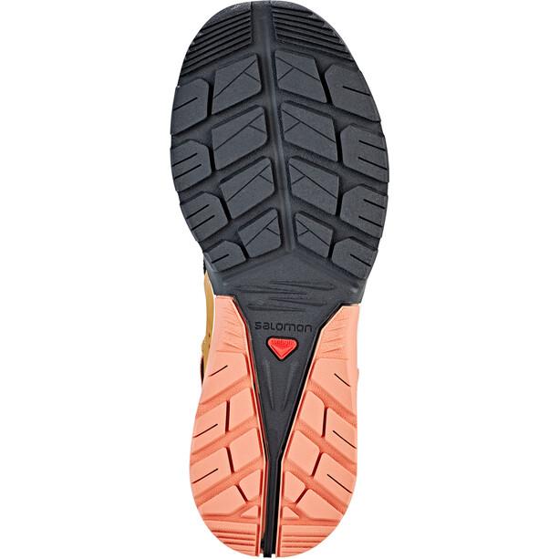 Salomon Techamphibian 4 Shoes Dam black/bistre/tawny orange