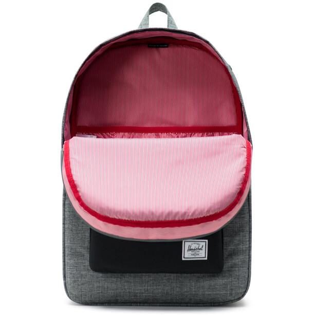Herschel Heritage Backpack raven crosshatch/black