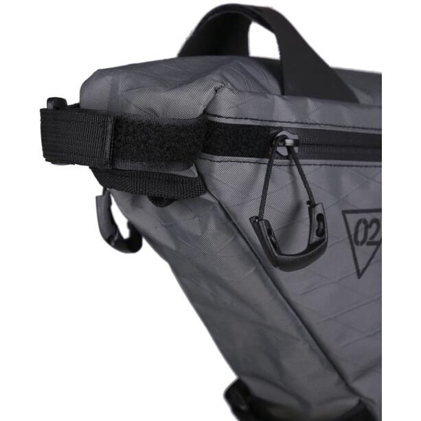 WOHO X-Touring Rahmentasche M honeycomb iron grey