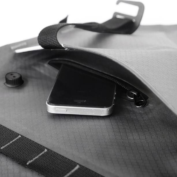 WOHO X-Touring Dry Rahmentasche L honeycomb iron grey