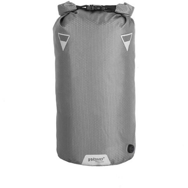 WOHO X-Touring Dry Bag 15l honeycomb iron grey