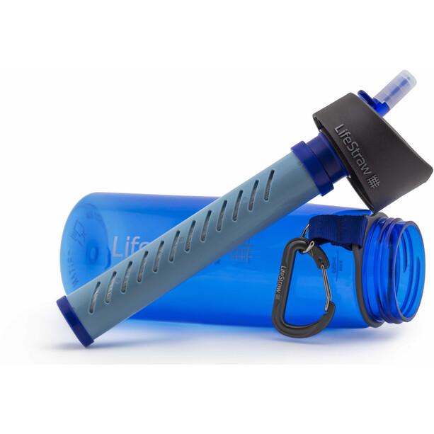 LifeStraw Go 2-Stage Trinkflasche mit Wasserfilter blau