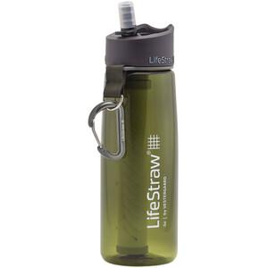 LifeStraw Go 2-Stage Trinkflasche mit Wasserfilter grün grün