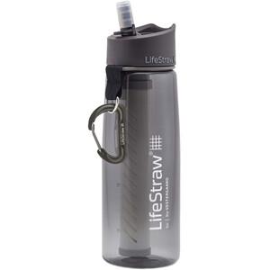 LifeStraw Go 2-Stage Trinkflasche mit Wasserfilter grau grau
