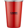CAMPZ Stacking Cup Set Stainless Steel 4-Pieces colorful