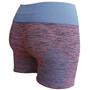 Kidneykaren Yoga Short Femme, violet/bleu