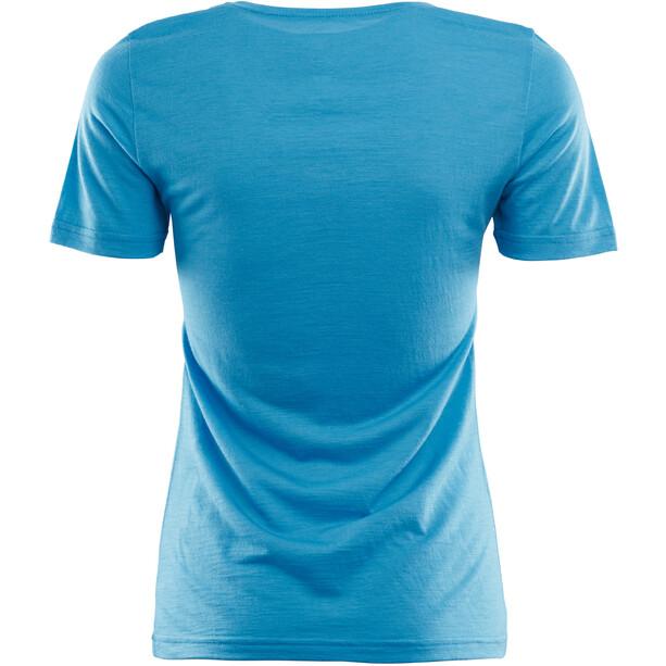 Aclima LightWool T-shirt Dam blithe