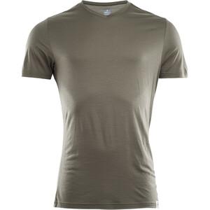 Aclima LightWool V-Neck T-Shirt Men grön grön