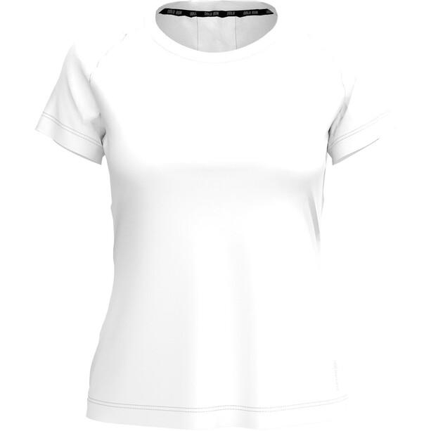 Odlo BL Ceramicool Element Kurzarm Rundhalsoberteil Damen white