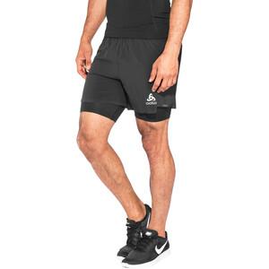 Odlo Zeroweight Ceramicool PRO 2-in-1 Shorts Herren black-black black-black