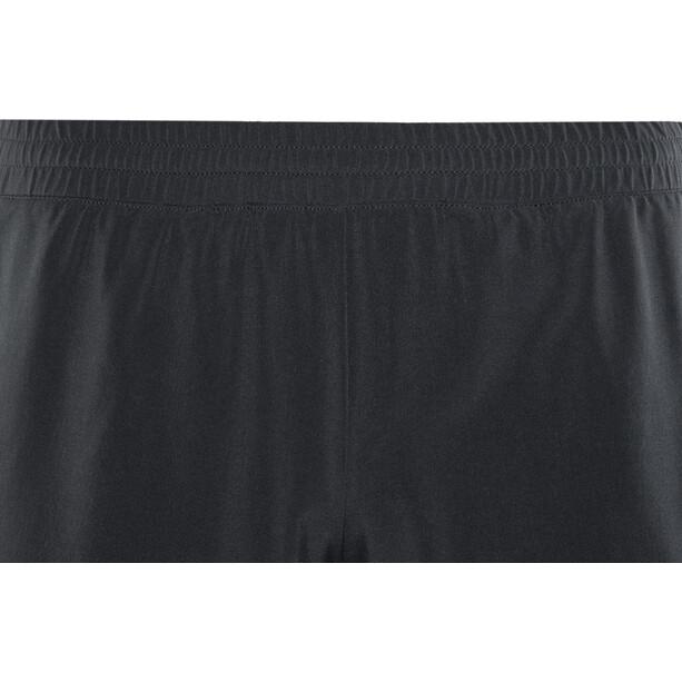 Odlo Millennium Linencool PRO 2-in-1-shortsit Miehet, black-black