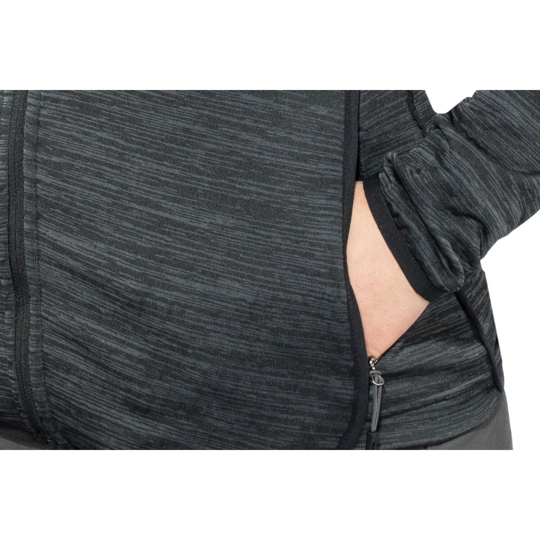 Odlo Steam Full-Zip Midlayer Damen black melange