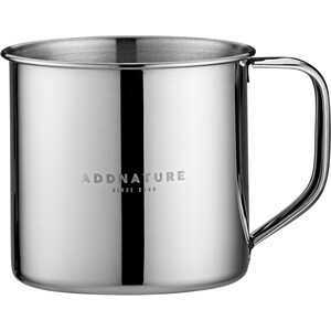 addnature Mug Stainless Steel 300ml silver silver