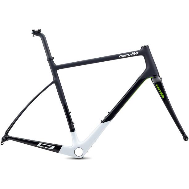 Cervélo C3 Rahmenset black/white