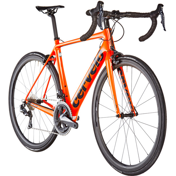 Cervelo R3 Ultegra Di2 8050 orange/blue