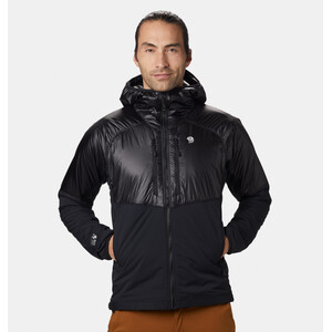 Mountain Hardwear Kor Strata Alpine Kapuzenjacke Herren black black
