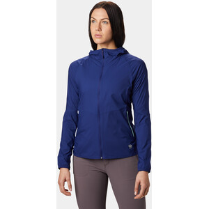 Mountain Hardwear Kor Preshell Kapuzenjacke Damen dark illusion dark illusion