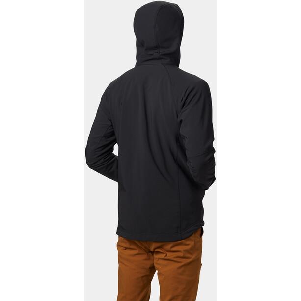 Mountain Hardwear Keele Hupullinen Takki Miehet, musta
