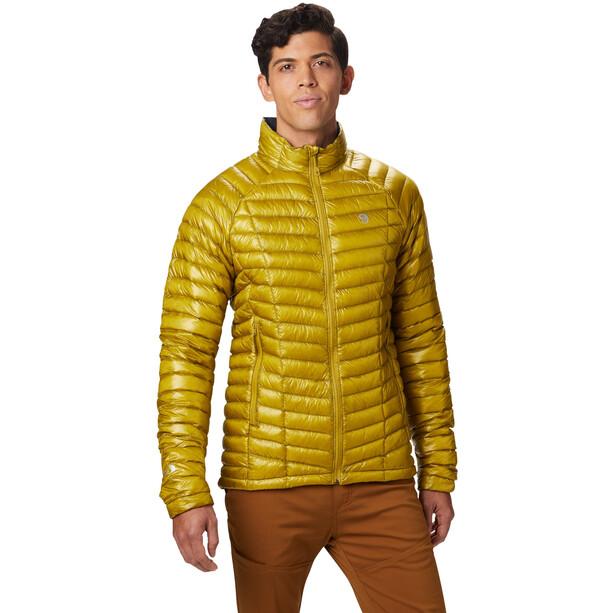 Mountain Hardwear Ghost Whisperer Down Jacket Herr dark citron
