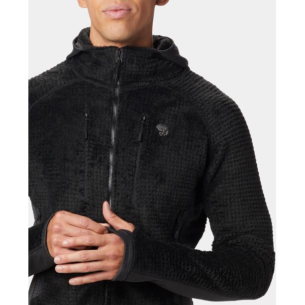 Mountain Hardwear Monkey Grid Hooded Jacket Herr black