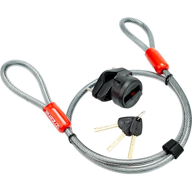 Zefal K-Traz U17 Bügelschloss mit Kabel