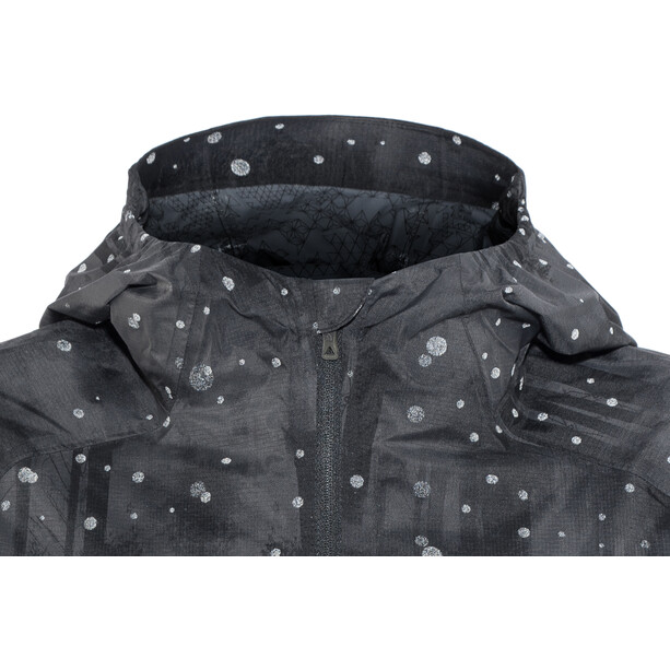 The North Face Stormy Trail Jacke Damen tnf black reflective firefly print