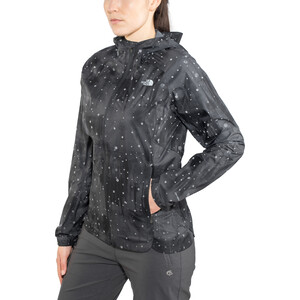 The North Face Stormy Trail Jacket Dame tnf black reflective firefly print tnf black reflective firefly print