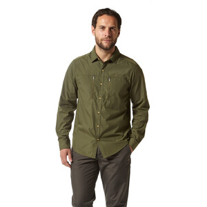 Craghoppers Kiwi Boulder Langarmhemd Herren dark khaki dark khaki