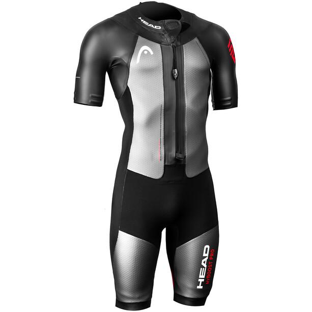 Head Swimrun MyBoost Pro Wetsuit Herr black/silver