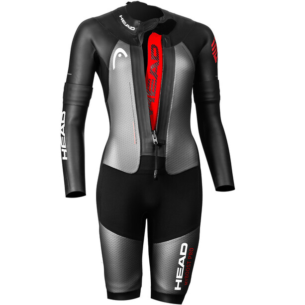Head Swimrun MyBoost Pro Wetsuit Dame Svart/sølv