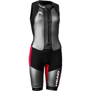 Head Swimrun MyBoost SL Wetsuit Dam black/silver/red black/silver/red