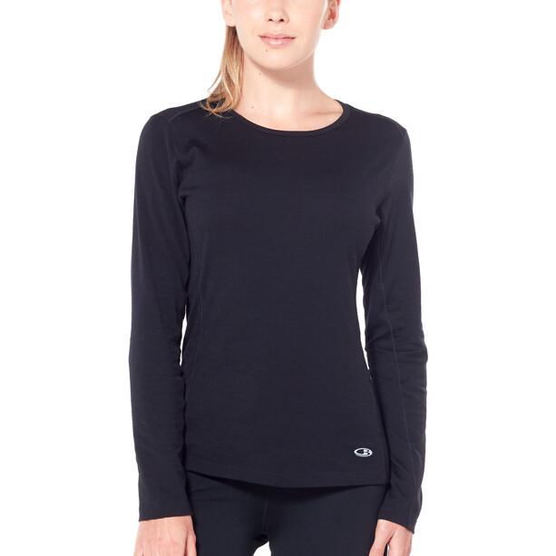 Icebreaker Comet Lite LS Crewe Shirt Dam black