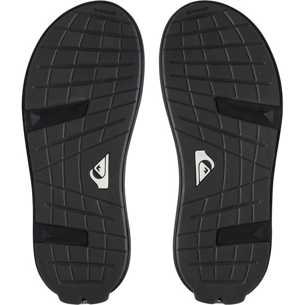 Quiksilver Layover Travel Sandaalit Miehet, musta