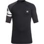Quiksilver Active Kurzarmshirt Herren black