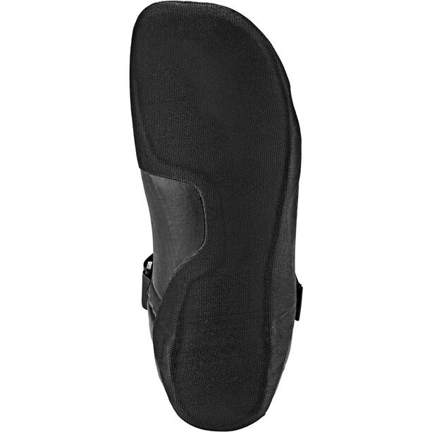 Quiksilver 5mm Syncro Round Toe Surf Booties Herren black