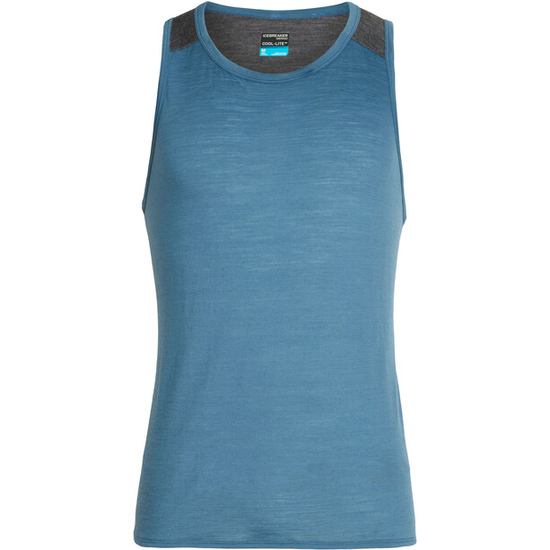 Icebreaker Amplify Tank Top Herren thunder/panther heather
