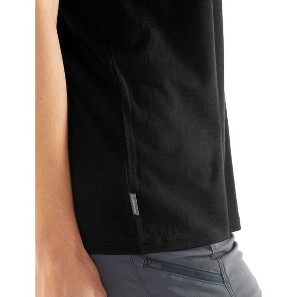 Icebreaker Tech Lite Good Stuff SS Rundhalsshirt Damen black