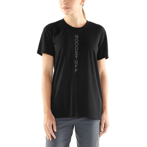 Icebreaker Tech Lite Good Stuff SS Rundhalsshirt Damen black black