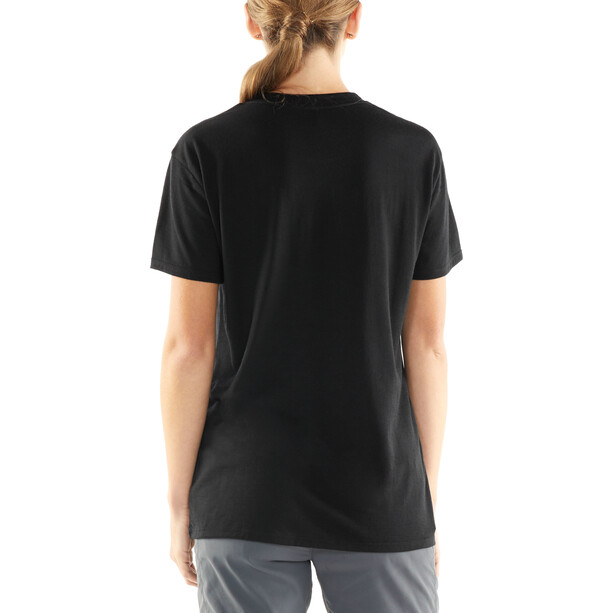 Icebreaker Tech Lite Made Different SS Rundhalsshirt Damen black