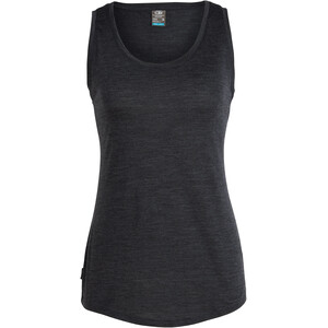 Icebreaker Sphere Tank Top Damen Black Heather Black Heather
