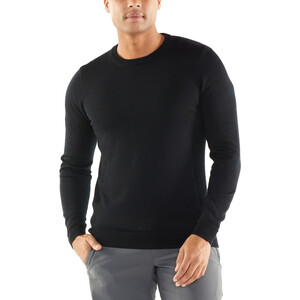 Icebreaker Quailburn Rundhals Sweater Herren black black