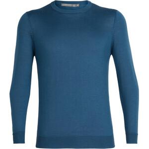 Icebreaker Quailburn Sweat-shirt à col ras-du-cou Homme, bleu bleu