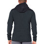 Icebreaker Descender Hybrid LS Half Zip Hood Herr black/jet heather