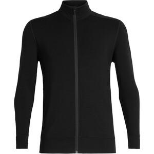 Icebreaker Momentum LS Zip Jacket Herr black black